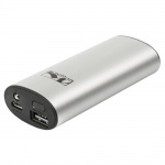 M-Wave portable USB charger Powerbank with LED 5200mAh 5V/1A